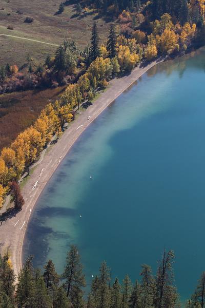 Kalamalka Lake in the Autumn