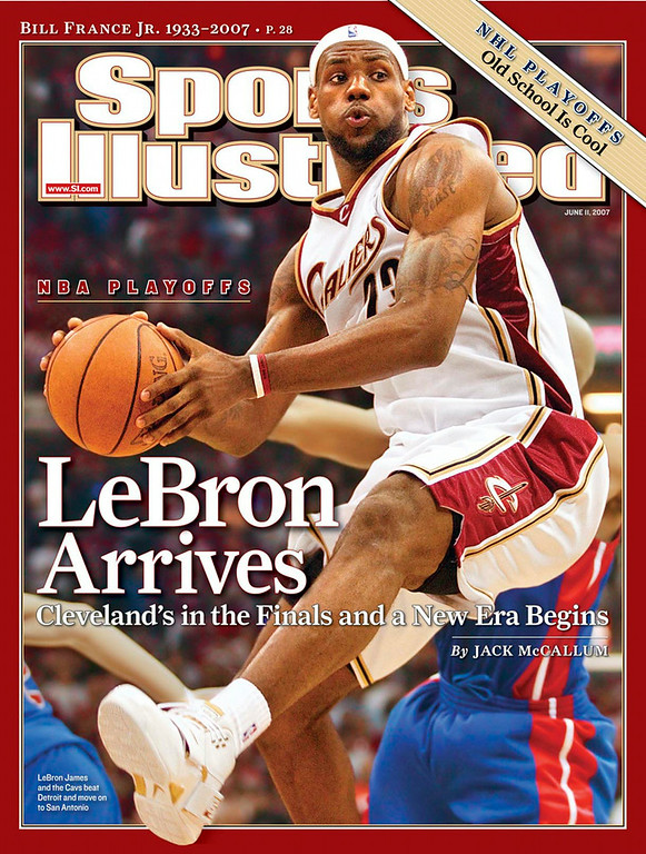 . SICover_061107_LeBron James Sports Illustrated