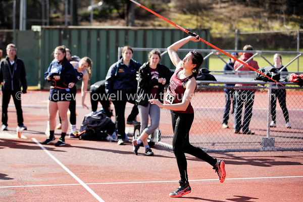 20180325 Track and Field Seattle Pacific University at Doris Heritage Track Festival Snapshots