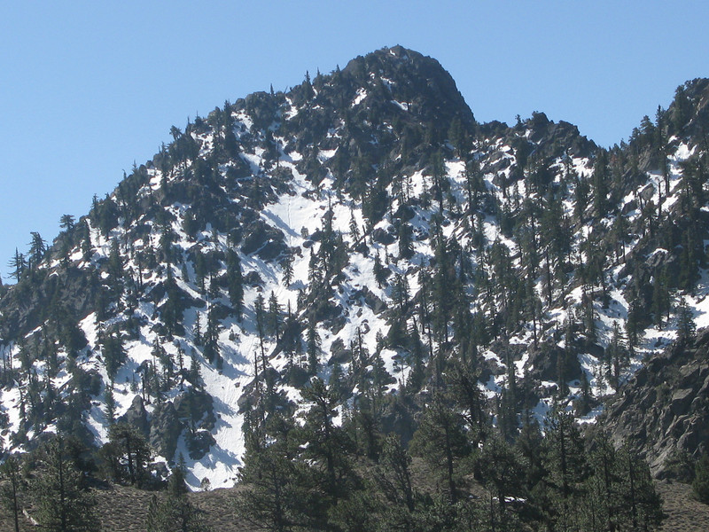 Spanish Needle is beyond that snowy dome
