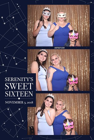 Serenity's Sweet Sixteen