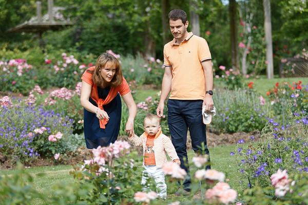 Route de la rose - famille
