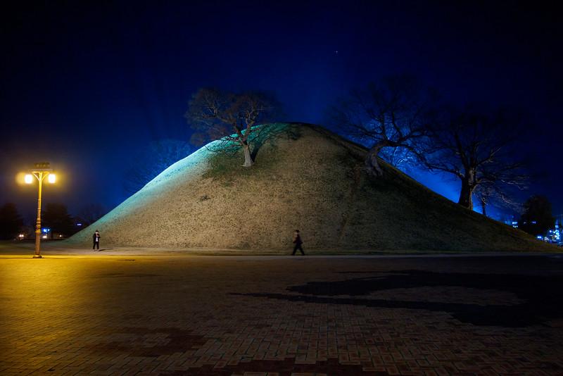 Royal Tombs in Gyeongju
