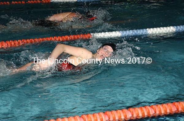 LA- WHS swimming 1-27-09