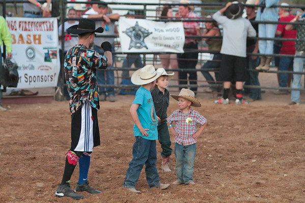 Mutton Bustin' at the Firefighter's Bull Bash - Sat, Aug 6, 2011