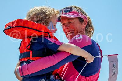 May 7, 2015 Team SCA Arrival & Finish in Newport, RI
