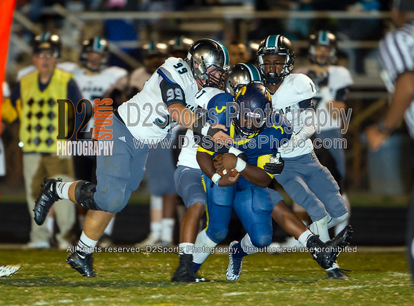 Mount Tabor Spartans vs Reagan Raiders Varsity Football 9/24/2015
