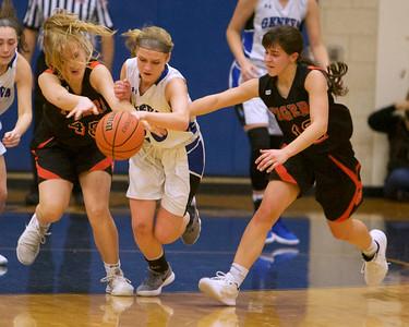 Geneva girls basketball vs. WWS