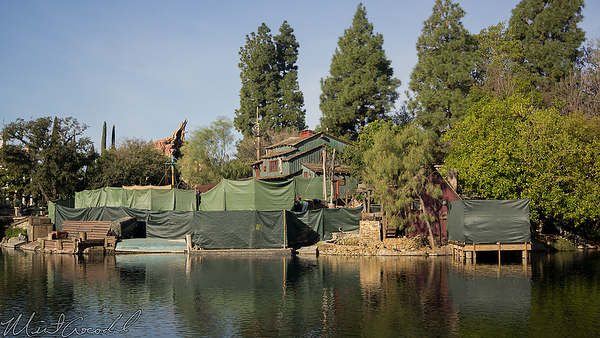 Disneyland Resort, Disneyland, Frontierland, Tom Sawyer Island, Tom Sawyer