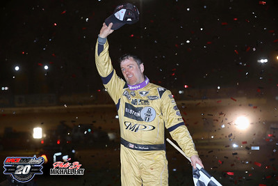 'Last Call' World Of Outlaws Late Model Series - The Dirt Track At Charlotte - 11/5/20 - Michael Fry