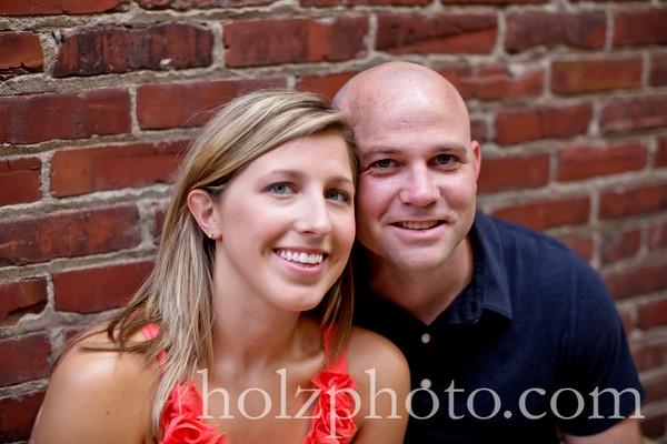 Sarah & Eric Color Engagement Photos Louisville, Ky