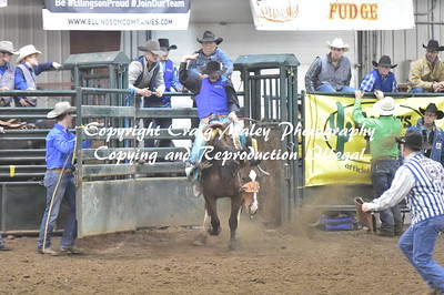 1ST GO SADDLE BRONC 10-12-2018