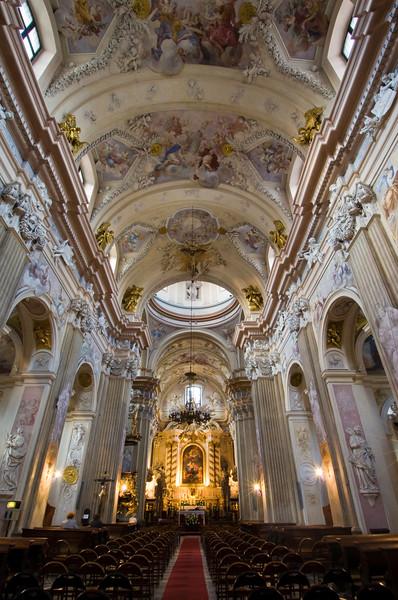 Poland, Cracow, St Ann's Church