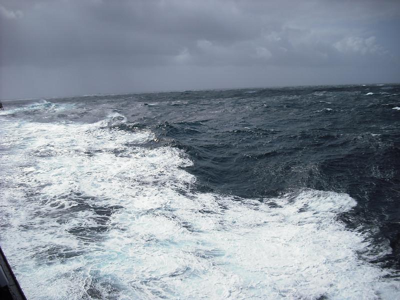 Some very rough seas