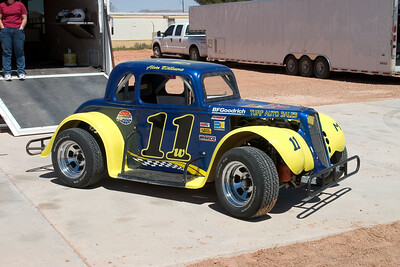 El Paso Speedway Park - April, 2006