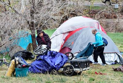 Photos: Homeless Encampment in Boulder Removed
