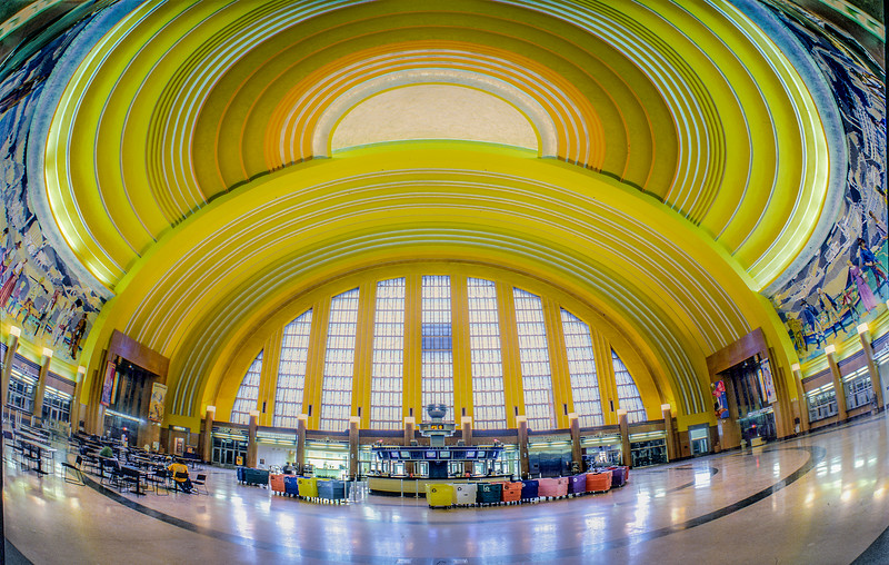 Cincinnati Train Terminal.