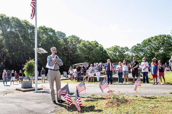 2021 Senoia Georgia Memorial Day Remembrance and Parade