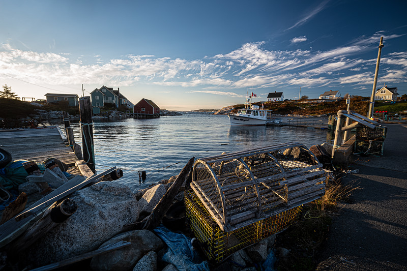 lobster trap & debris Peggy's Cove.jpg