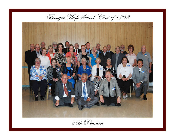 Class of 1962  55th Reunion