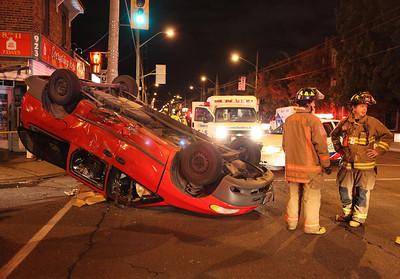 September 28, 2010 - Vehicle Rollover - Mortimer Ave / Pape Ave