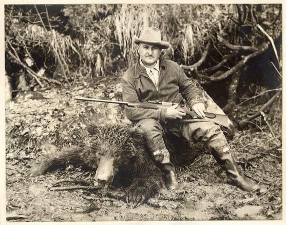 Mary & Albert Ellinger Hunting Bears