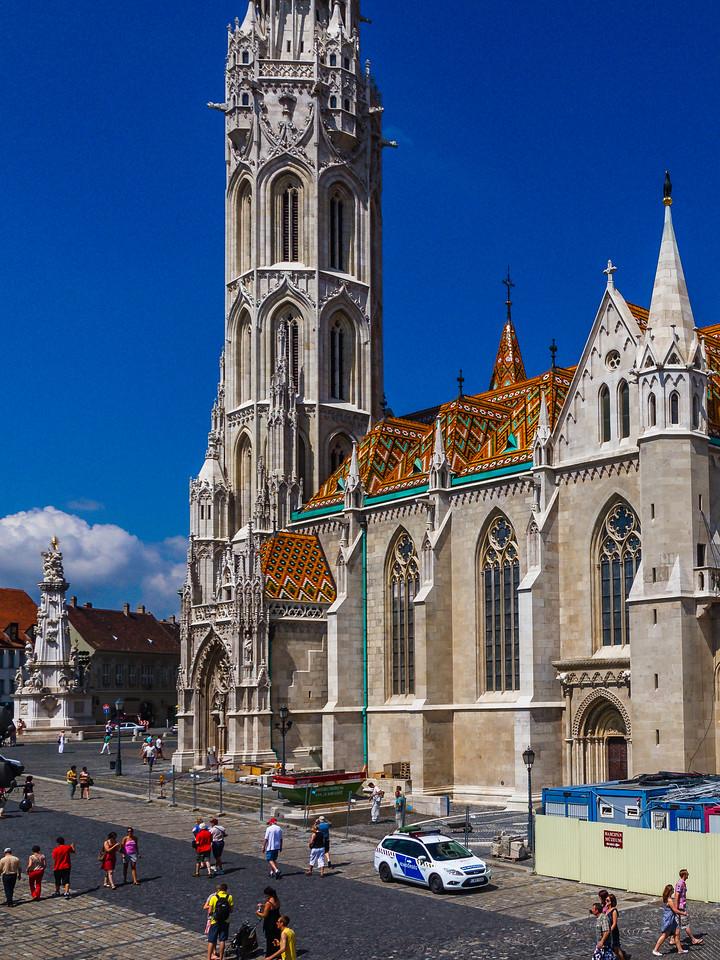 匈牙利马加什教堂,地标建筑