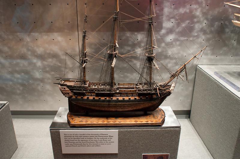 2009-10-03 - USNA Museum - 219 - French Prisoner-of-War Bone Ship Model - _DSC7623.jpg