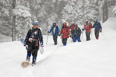 Snowshoeing - February, 2006