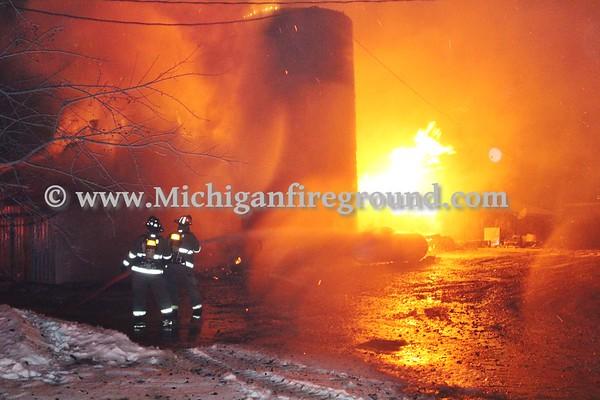 2/28/20 - NIESA barn fire, 2965 E. Howell Rd