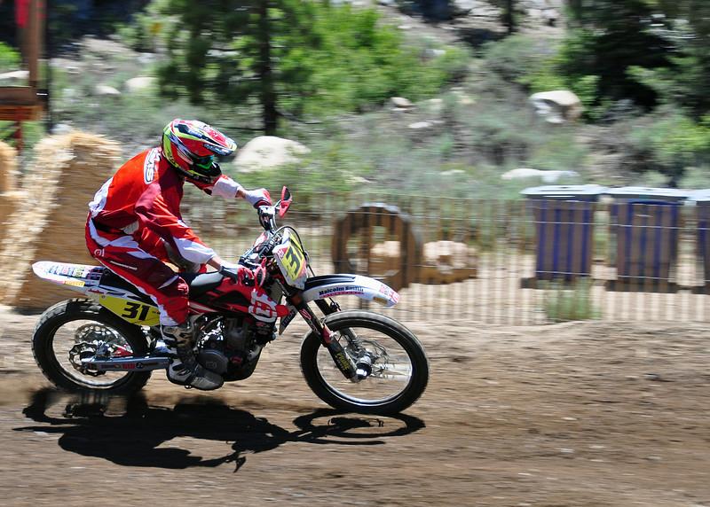 Ty Davis at Mammoth Mountain Motocross