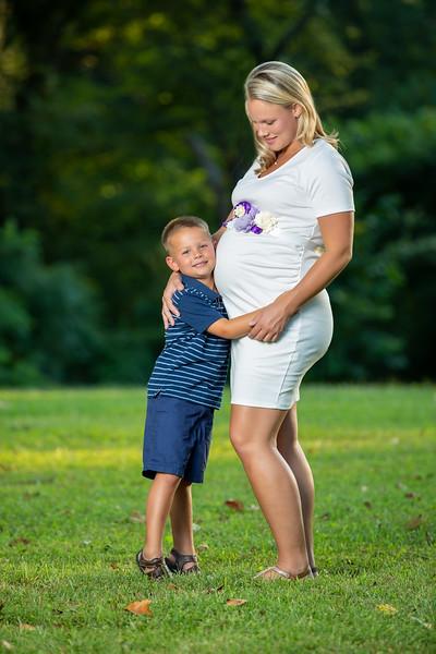 cara maternity pics