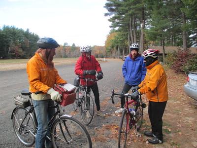 October 26 Wednesday Ride