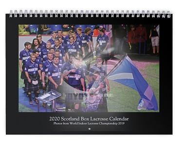 2020 Scotland Box Lacrosse Calendar