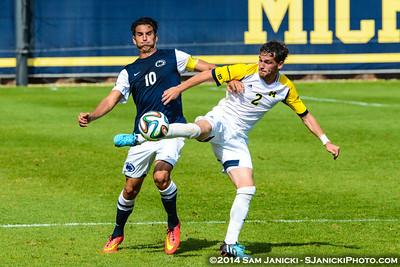 Best of UM Men's Soccer Vs Penn State 9-28-14