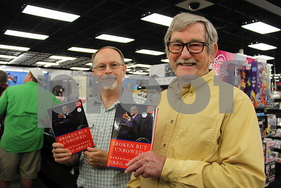 5/19/16 Governor Greg Abbott Brings Book Tour To Tyler by Susan Wells & Sarah Miller
