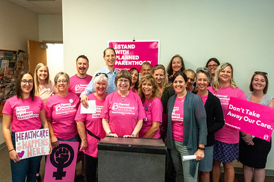 Planned Parenthood Press Conference with Senator Wyden