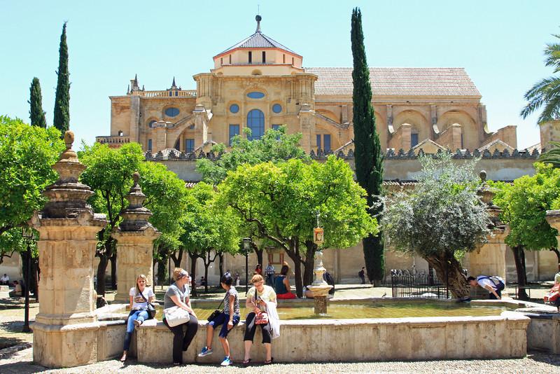 Patio los Naranjos, Mezquita, Cordoba.