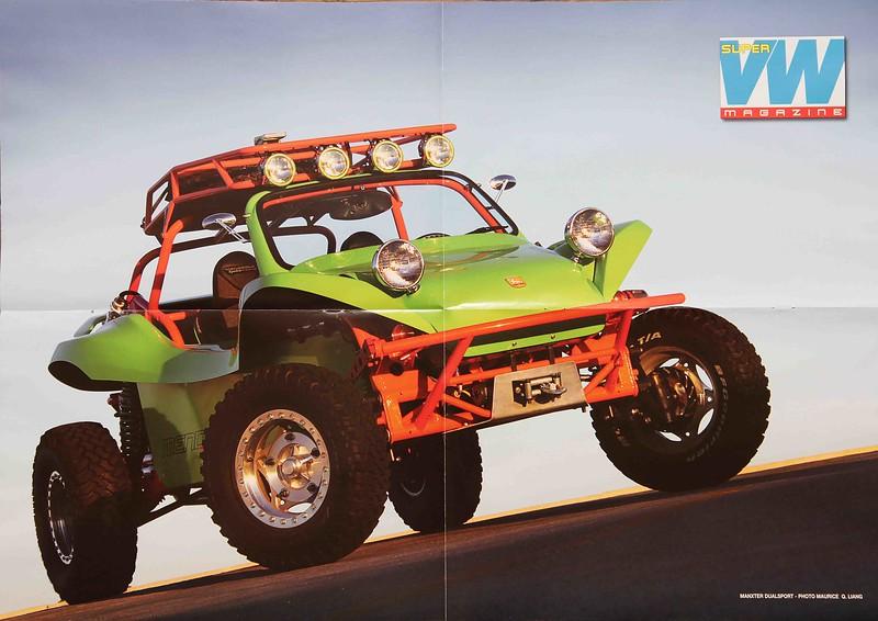 Super VW Magazine poster photo.  Sept. 2011