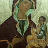 Madonna and Child, Central Russia, 16th Century.  The Louvre Museum, Paris, France