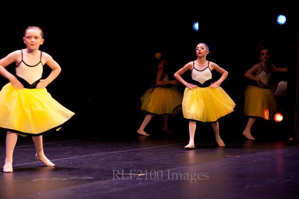 08 Yellow Ballerina Fairies
