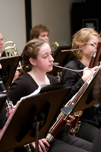 Katie FitzGibbon, bassoon -- Hopkins Symphony Orchestra, March 2008