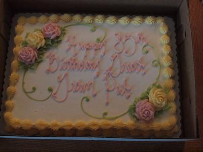 Grams 85th Birthday
