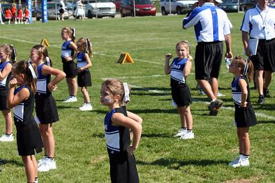 Shelby Lions Football Club - 2007 Flag Cheer Squad