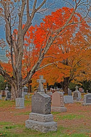 Saint Bernards Cemetery, Concord MA. 26-Oct-2018