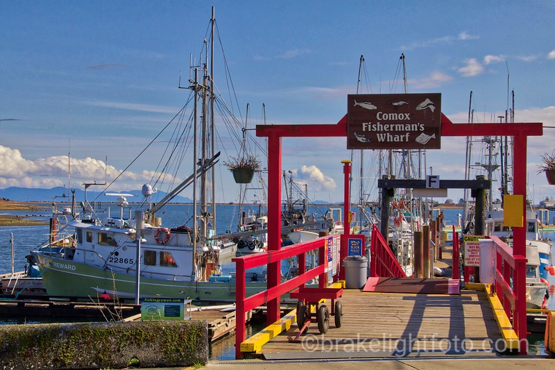 Comox Fisherman's Wharf