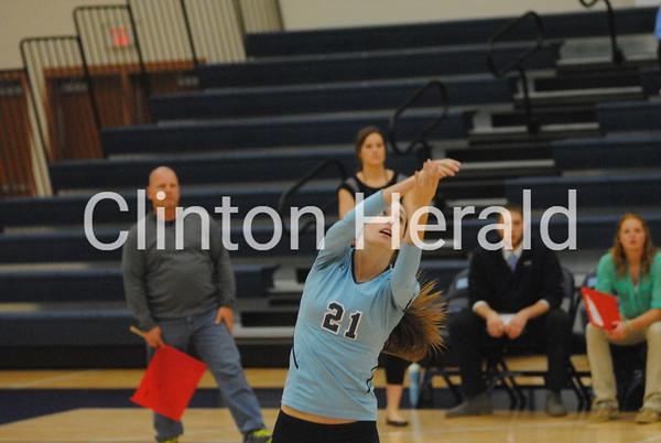 Anamosa at Northeast volleyball (10-26-15)