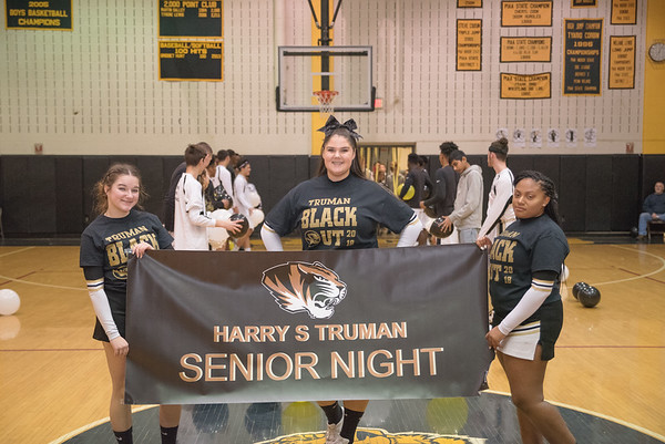 Truman High School Basketball SENIOR NIGHT 02.08.18