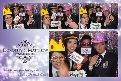 Dorothy & Matthew's Wedding 29 Nov 2015