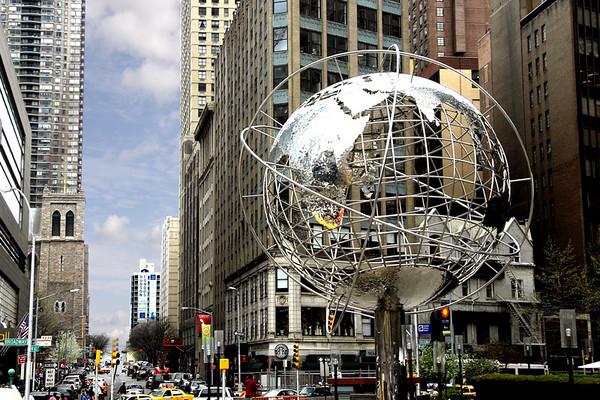 NEW YORK: SHOTS IN MANHATTAN ISLAND, NEW YORK. (COLORED PHOTOS)